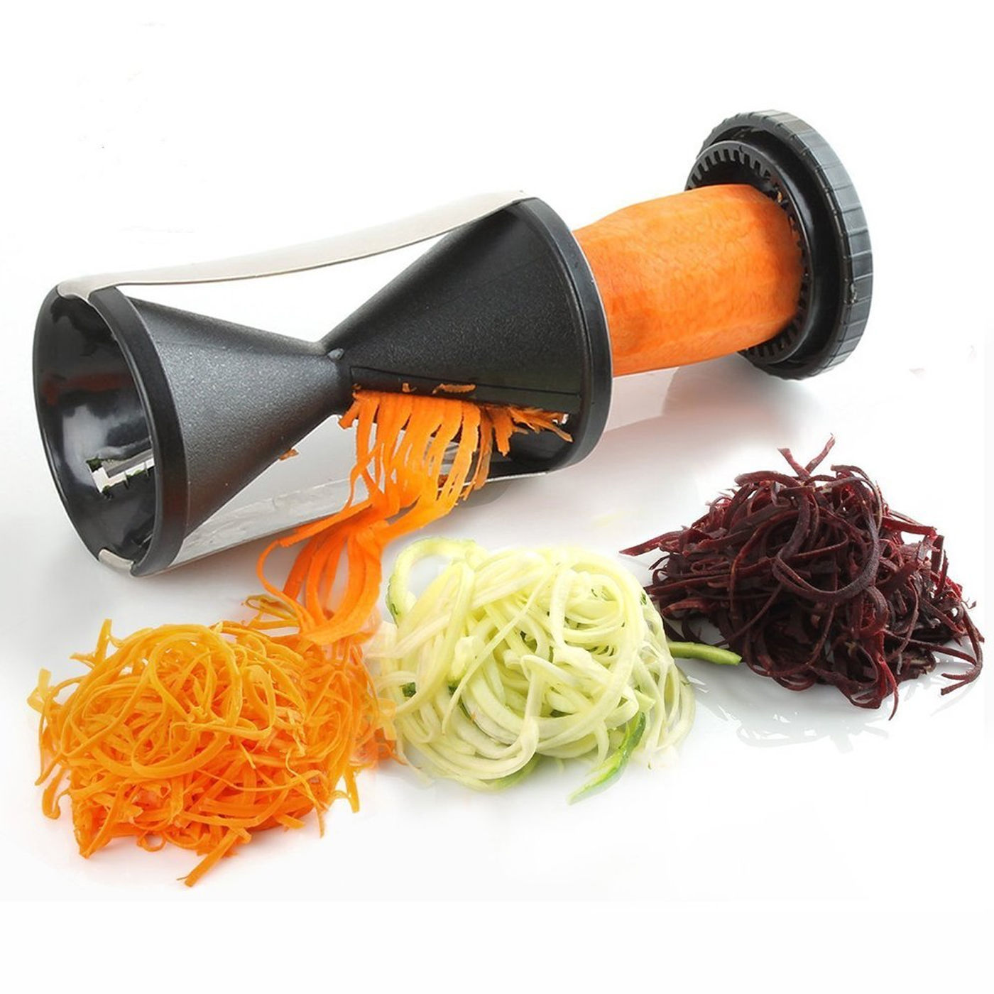 Vegetable Spiral Slicer Fruit Cutter Peeler Kitchen Tool Spiralizer Twister New