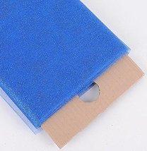 "54"" Inch X 10 Yards Premium Glitter Tulle Fabric Bolt (Royal Blue) - $17.64"