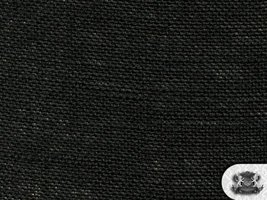 Burlap BLACK Fabric By the Yard - $8.77