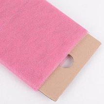 "54"" Inch X 10 Yards Premium Glitter Tulle Fabric Bolt (Shocking Pink) - $17.64"