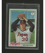 1978 Topps Nolan Ryan - Angels - Mint #400 - $25.00