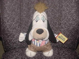 "13"" Droopy Dog Plush Toy With Outfit and Sign I'm So Happy 1990 Applause - $59.39"