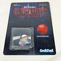 Stranger Things Geek Fuel Exclusive Epic Enamels #004 Dustin Collectable... - $12.86