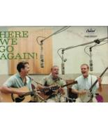 Pre-owned 33 RPM record from 1959, THE KINGSTON TRIO, Here We Go Again - $9.50