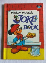 Disney's Wonderful World of Reading Mickey Mouse's Joke Book Hardcover B... - $8.59