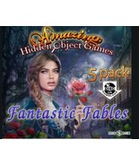 FANTASTIC FABLES Amazing Hidden Object Games 5 PACK PC Game NEW - $24.00