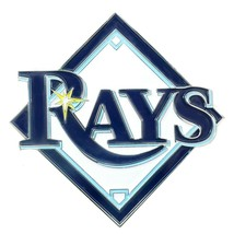 Fanmats MLB Tampa Bay Rays Diecast 3D Color Emblem Car Truck RV 2-4 Day Delivery - $15.83