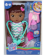Hasbro BABY ALIVE BETTER NOW BAILEY AFRICAN AMERICAN DOLL Black Hair DRI... - $41.57