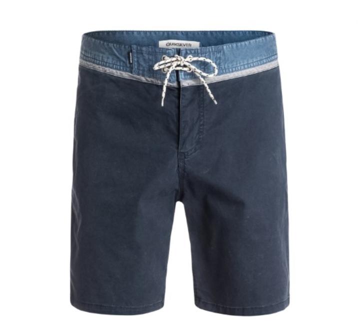 b43a7d738c $60 Quiksilver Mens Street Trunk Yoke Shorts, Navy Blazer, Size 40.