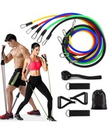 Resistance Bands Set 11Pcs Elastics Fitness Equipment Home Gym - $27.75