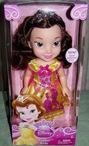 "My First Disney Toddler Belle 13.5"" Toddler Doll with Royal Reflection Eyes - $25.62"