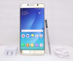 Samsung Galaxy Note 5 32GB SM-N920R4 | 4G (GSM UNLOCKED) Smartphone | Gold