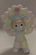 Precious moments Birthday figurine B0112 with scented ink stamp - $34.64