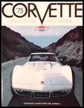 1975 Chevy Corvette Stingray ORIGINAL Brochure, GM NOS 75 - $8.49