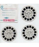 View Master Discs 3 Reels - Stories  Cinderella, Aesop's Fables, David &... - $5.88