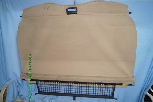 99-04 Bmw E46 323i 325i 325iX Retractable Rear Cargo Cover Privacy Shade w/ Net