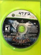 Batman Arham Asylum (Xbox 360, 2009), Tested, FREE SHIPPING, USA Seller image 3