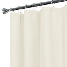 Maytex Water Repellent Fabric Shower Curtain Or Liner, Machine Washable,... - $16.52