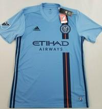 new Adidas Climacool men shirt jersey New York City FC 7417A soccer blue... - $39.59
