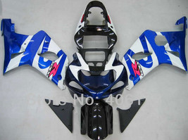 Suzuki GSXR 1000 00-02 Injection ABS Body Fairing Kits Blue White Black - $405.00