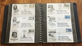 188 First Day Covers Issue Stamp Envelopes in Album 1960s-1970s Collecti... - $79.19
