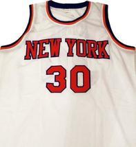 Bernard king new york basketball jersey white   1 thumb200