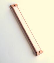 Judaica Mezuzah Case Engraved Filigree Design Copper 12 cm Closed Back image 5