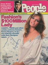 People Weekly Magazine April 26 1982 Cheryl Tiegs Ingrid Bergman - $27.83