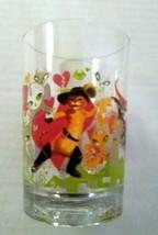 McDonald's Disney Works Drinking Glass Shrek The Third 2007 Puss N' Boots - $9.90