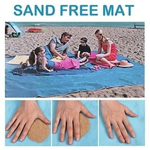 TOLOCO Sand Proof Free Blanket Beach Mat, Compact, Soft and Lightweight ... - $13.95