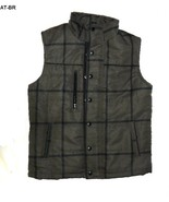 Athletech Size 10/12 Grayish Brown Lined Quilted Polyester Vest NWOT - $14.99