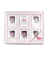 Bon Bebe Watch Me Grow Pink Photo Frame Gift Set - $22.76