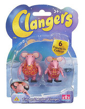 Clangers Collectable Figure Pack - Tiny and Mother Clanger - 05630 - New - $12.00