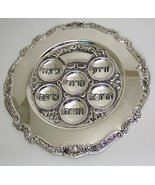 Judaica Silver Plated Passover Seder Plate - $14.85