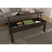 Coffee Cocktail Table Modern Lift Top Storage TV Tray Living Room Wood E... - $143.12 CAD
