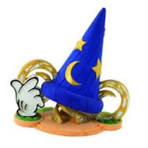 The Sorcerer's Apprentice Mickey.Sorcerer's Hat Diorama Miniature US Dis... - $30.69