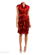 New Designer Josie Natori Womens M Silk Dress C... - $451.75