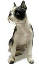 Vintage Lefton Dog Large Figurine Boston Terrie... - $16.00