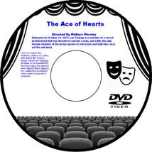 The Ace of Hearts 1921 DVD Movie Drama Lon Chaney Leatrice Joy John Bowe... - $3.99