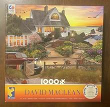 "David MacLean 1000 pc 27 x 20"" puzzle - Lake Como -Excellent Cond - $7.83"