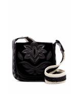 NEW SAM EDELMAN WOMEN'S LEATHER EMMA FRONT FLAP CROSSBODY SHOULDER BAG B... - $158.35