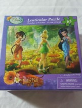 New Disney Fairy Tinker Bell and The Lost Treasure Lenticular Puzzle 63 ... - $6.44