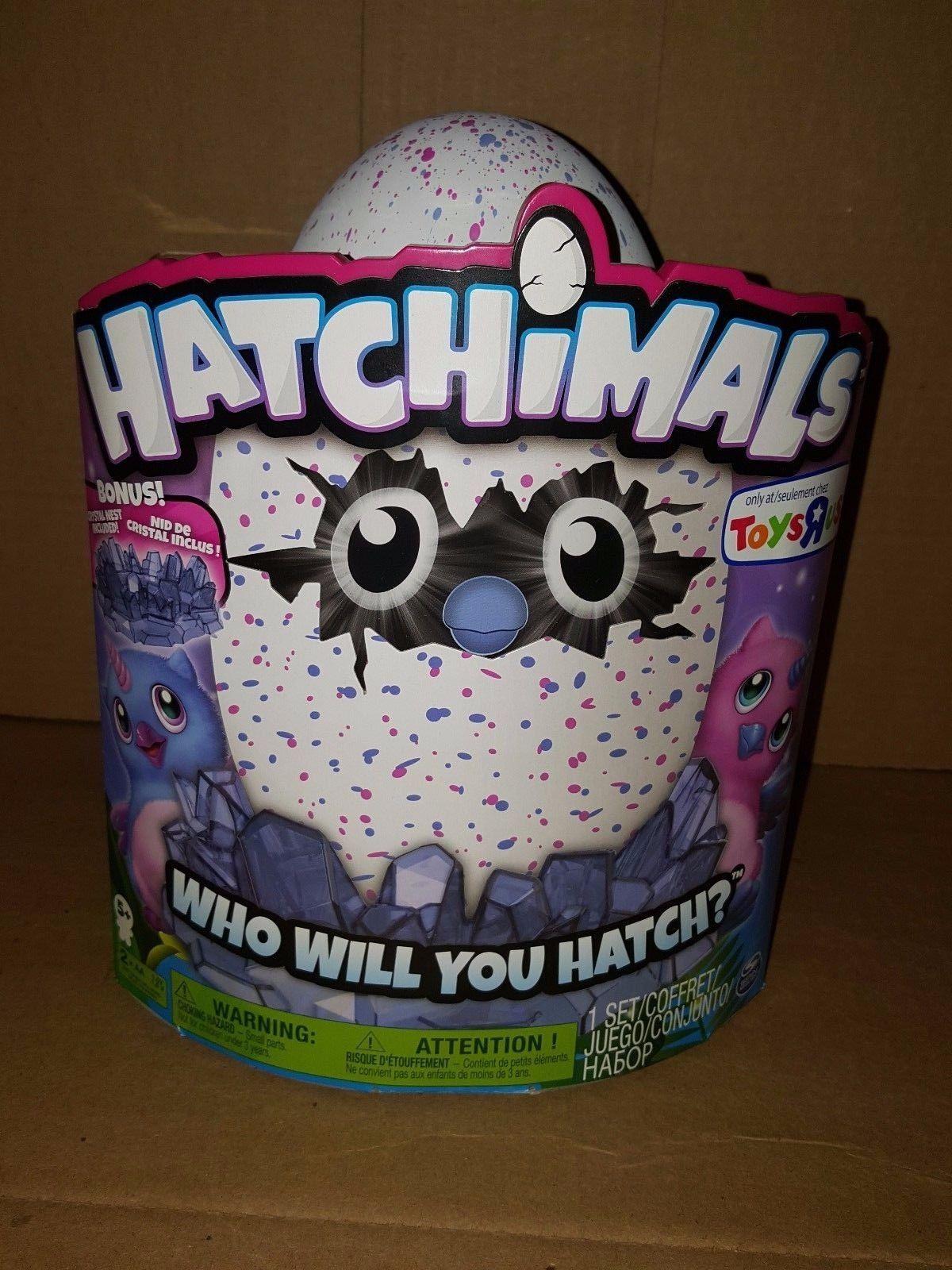 HATCHIMALS -Lot of 3-get them all Owlicorn, Burtle & Bearakeet MISPRINT ERRORS