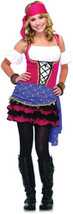 Teen Girl's Costume: Crystal Bally Gypsy | Small/Medium - $62.99