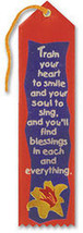 Train Your Heart To Smile Ribbon - $8.94