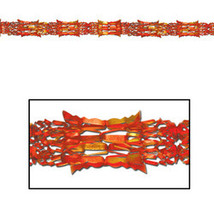 "Fall/Thanksgiving Metallic Garland - 8"" x 9' - $71.88"