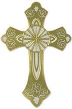 Gold Foil Cross Silhouette - $23.76