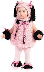 Toddler Costume: Pinkie Poodle | 2T-4T