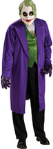 Batman Dark Knight The Joker Adult Costume - $49.99