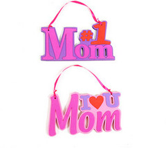Mom Foam Plaque with Ribbon Hanger - $215.28
